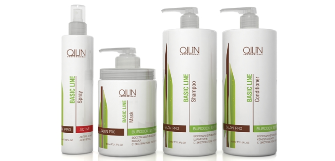 Профессиональная косметика ollin для волос